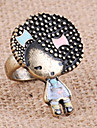 Cute African Girl First Explosion Of Foreign Trade Of The Original Single Stunning Little Girl Ring