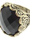 Vintage diamant incrusté anneau des femmes