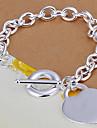 Bracelet Chaînes & Bracelets / Bracelets Vintage Alliage Amour Soirée / Quotidien Bijoux Cadeau Argent