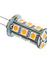 2W 180-220lm G4 / GU4(MR11) Becuri LED Corn T 18 LED-uri de margele SMD 5050 Alb Cald / Alb Rece 12V