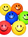Happy Face à motifs anti-stress Balles de caoutchouc (couleur aléatoire)