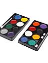 8 Colors Clown Face Paint Kit (Random Color)