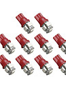 10pcs T10 Bil Elpaerer 5 Blinklys For Universell / # / Roed