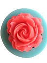 1PCS Rose Shape Chocolate Candy Silicone Mold