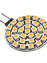 SENCART 90-110 lm G4 GU4(MR11) Spot LED 30 diodes electroluminescentes SMD 3528 Blanc Chaud AC 12V