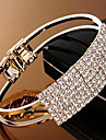 Women\'s Bangles Crystal Alloy Jewelry Christmas Gifts Party Daily