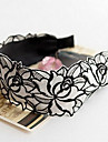 Z&X®  No Tooth Lace Embroidery Flower Cloth Band Broadside