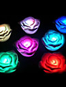 The Colorful Christmas Rose Light (Random Color)