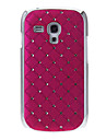 Motif Couverture rigide Retour Case Diamante pour Samsung Galaxy S3 Mini I8190