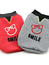 Dog Coat Dog Clothes Characters Gray Red Costume For Pets
