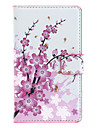 Wintersweet Pattern Full Body Case with Card Slot for Nokia Lumia 925
