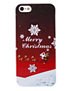 Santa Sleigh Back Case for iPhone 5/5S