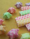 Origami de la estrella luminosa de materiales (27 Piezas)