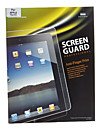 Anti-Finger Print Screen Guard Professional Transparency alta com pano de microfibra para iPad 2/3/4