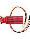 Niveau d'eau Alarme Capteur de niveau de liquide Module Circuit rouge
