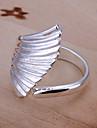 (1 Pc)Sweet Women\'s Silver Copper Ring(size 8#)