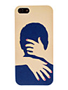 Warm Hug Pattern PC Hard Case for iPhone 5/5S