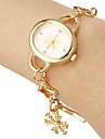 아가씨들 팔찌 시계 캐쥬얼 시계 일본 쿼츠 석영 밴드 우아한 골드