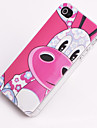 Joyland Pink Donkey Pattern Relief Back Case for iPhone 4/4S