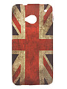 England Flag Pattern TPU Soft Case For HTC ONE M7