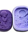 Инструменты для выпечки Силикон Экологичные / 3D / Своими руками Торты / Печенье / Пироги Спящий ребенок выпечке Mold 1шт
