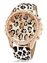 Mulheres Relógio de Moda Quartzo PU Banda Leopardo Cores Múltiplas Leopardo