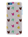 etui rigide lapins de motif colore pour iphone 7 7 plus 6s 6 plus soi 5s 5c 5 4s 4