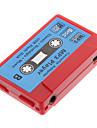 TF 카드 판독기 MP3 플레이어 테이프 모양 빨강