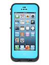 차가운 공기 차단 터프 보호 2m 방수 아이폰 5에 대한 전체 케이스 본체 (분류 된 색깔)
