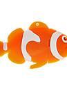 기가 바이트 물고기 모양의 USB 플래시 드라이브