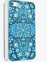 Pour Coque iPhone 5 Motif Coque Coque Arriere Coque Fleur Dur Polycarbonate iPhone SE/5s/5