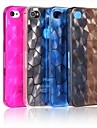 Water Cube Solid Color PC Back Case for iPhone 4/4S(Assorted Color)