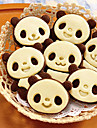 belle caricature panda biscuits moule