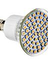 E14 Lâmpadas de Foco de LED 60 leds SMD 3528 Branco Natural 300lm 4100K AC 220-240V