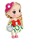 Women's Doll Shape Keychain Watch (Green) Cool Watches Unique Watches