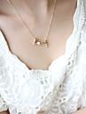 Femme Pendentif de collier - Coeur, Amour Style Simple Argent, Dore Colliers Tendance Bijoux Pour Soiree, Anniversaire, Cadeau