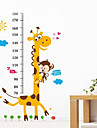 Наклейки и ленты Стикер пластик For Измерение 1-3 лет 6-12 месяцев 0-6 месяцев малыш Милый стиль Многофункциональный