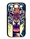 Elonbo J6D Roaring Tiger Capa Hard Case Voltar para Samsung Galaxy S3 I9300