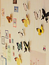3d diy wall atickers vividly butterfly fridge magnet decoracao de apartamentos em casa