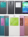 PU Leather Protective Case with Built-in Smart Chipset + Visual Window + Auto-Sleep for Samsung Galaxy Note 3 N9000(Assorted Colors)