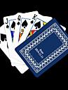 Presente personalizado azul Vine Padrao do cartao de jogo para Poker