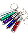 Key Chain Flashlights Laser LED <50 lm 1 Mode - Mini Climbing Traveling