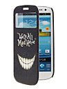 Funny Teeth Pattern Full Body Case with Window for Samsung S3
