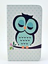 Sleeping Owl Pattern Full Body Case with Stand for Samsung Galaxy Tab 3 8.0 T310