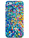 Colorful Broken Mirror Plastic Back Case for iPhone 4/4S