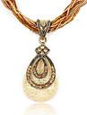 Fashion Water-Drop Pendant Exquisite Necklace