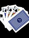Presente personalizado azul padrao de verificacao do cartao de jogo para Poker