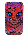 Rose Leapard Face Hard Back Cover Case for Samsung Galaxy S3 Mini I8190