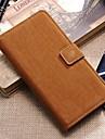 Capinha Para Samsung Galaxy Samsung Galaxy Capinhas Carteira Porta-Cartao Com Suporte Flip Corpo Inteiro Cor Solida Couro Ecologico para