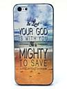 O mar eo céu e Deus Padrão Hard Case para iPhone 5C